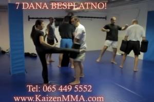 Kaizen MMA Akademija trening